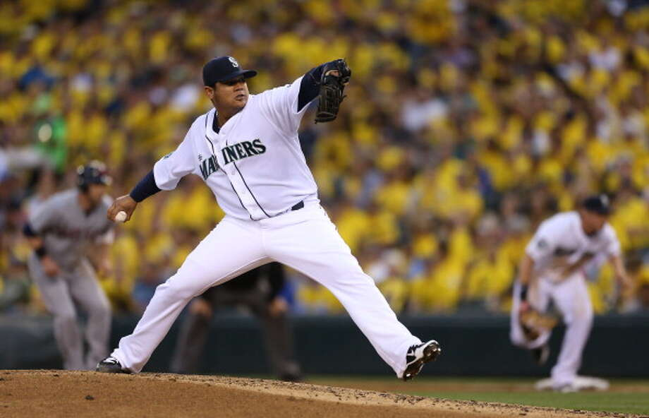 King Felix  Felix Hernandez -- Mariners (2005-present)  Photo: Otto Greule Jr, Getty Images / 2012 Getty Images