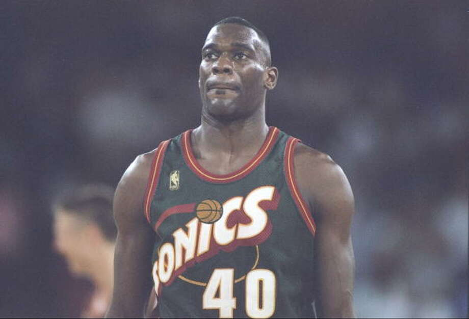 Reign Man  Shawn Kemp -- SuperSonics (1989-97)  Photo: Brian Bahr, Getty Images / Getty Images North America