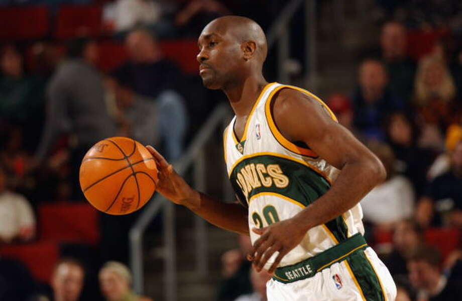 The Glove  Gary Payton -- SuperSonics (1990-2003)  Photo: Otto Greule Jr, Getty Images / 2002 Getty Images