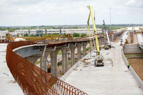 Construction crews are busy building the connector from I-10 to the Grand Parkway. The freeway will be the first Houston-area toll road that will be managed by Tx-DOT.