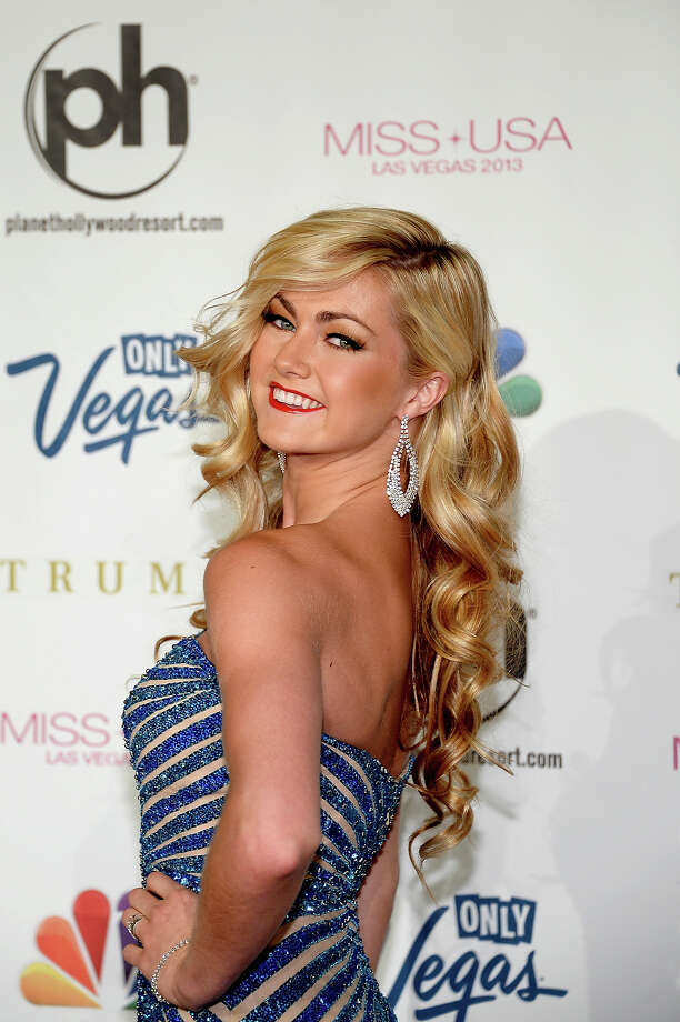 Dancer Lindsay Arnold arrives at the 2013 Miss USA pageant at Planet Hollywood Resort & Casino on June 16, 2013 in Las Vegas, Nevada. Photo: Ethan Miller, Getty Images / 2013 Getty Images
