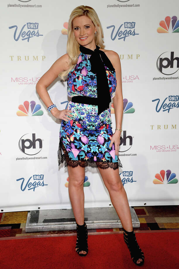 Model and television personality Holly Madison arrives at the 2013 Miss USA pageant at Planet Hollywood Resort & Casino on June 16, 2013 in Las Vegas, Nevada. Photo: Ethan Miller, Getty Images / 2013 Getty Images