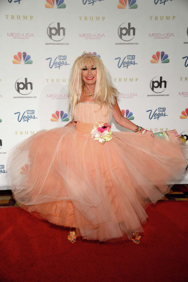 Fashion designer and pageant judge Betsey Johnson arrives at the 2013 Miss USA pageant at Planet Hollywood Resort & Casino on June 16, 2013 in Las Vegas, Nevada. Photo: Ethan Miller, Getty Images / 2013 Getty Images