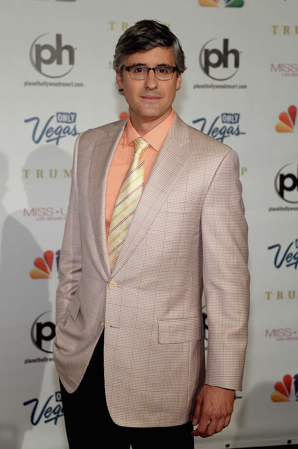 Writer, comedian and pageant judge Mo Rocca arrives at the 2013 Miss USA pageant at Planet Hollywood Resort & Casino on June 16, 2013 in Las Vegas, Nevada. Photo: Ethan Miller, Getty Images / 2013 Getty Images