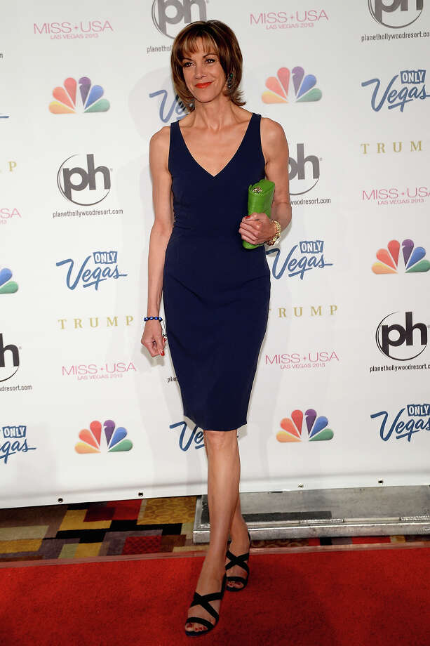 Actress and pageant judge Wendie Malick arrives at the 2013 Miss USA pageant at Planet Hollywood Resort & Casino on June 16, 2013 in Las Vegas, Nevada. Photo: Ethan Miller, Getty Images / 2013 Getty Images