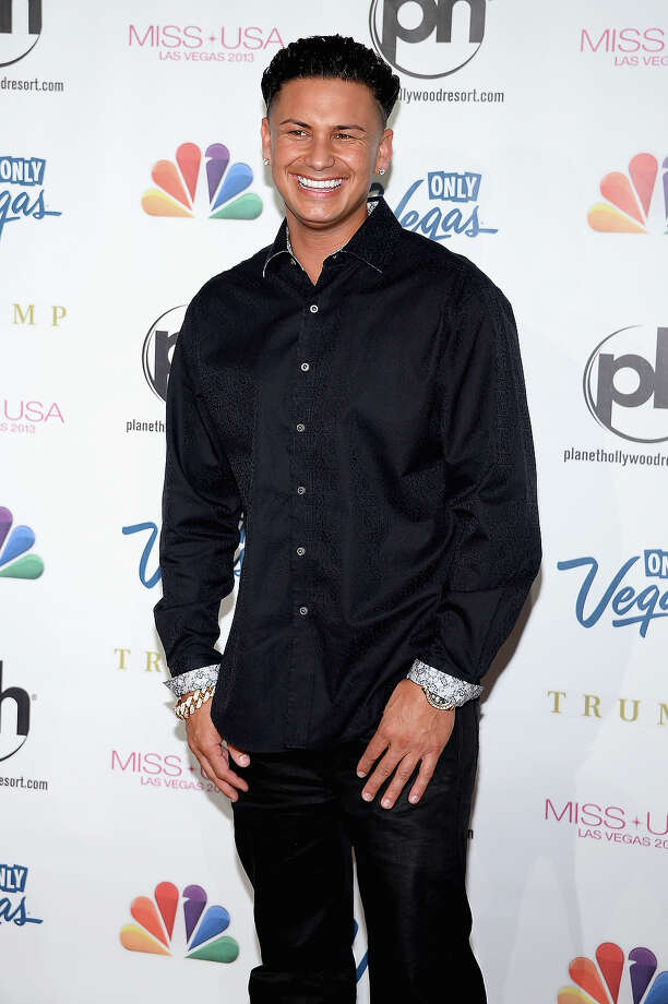 "Television personality DJ Paul ""Pauly D"" DelVecchio arrives at the 2013 Miss USA pageant at Planet Hollywood Resort & Casino on June 16, 2013 in Las Vegas, Nevada. Photo: Ethan Miller, Getty Images / 2013 Getty Images"
