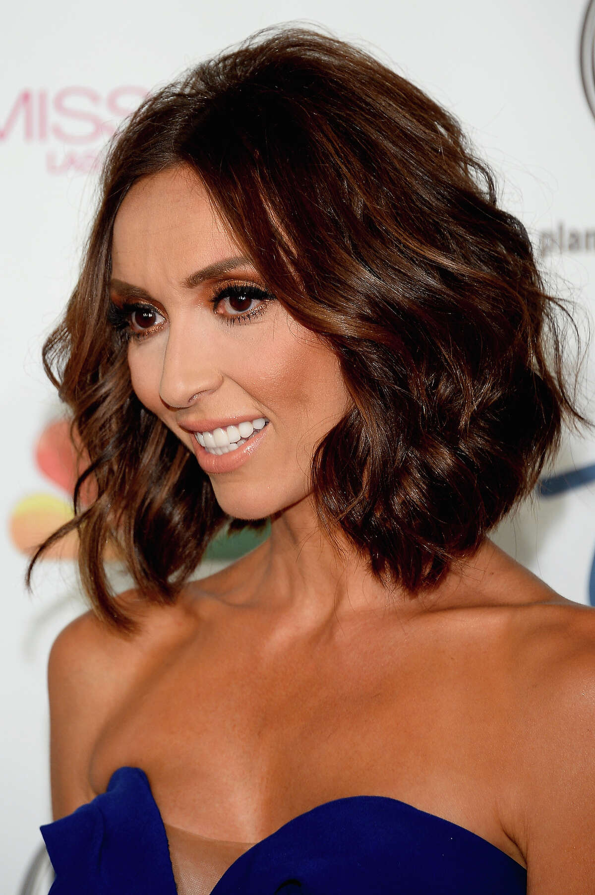 Television personality and pageant co-host Giuliana Rancic arrives at the 2013 Miss USA pageant at Planet Hollywood Resort & Casino on June 16, 2013 in Las Vegas, Nevada.