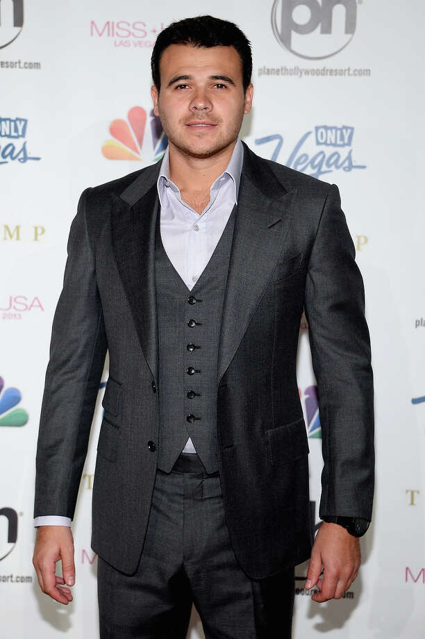 Singer Emin Agalarov arrives at the 2013 Miss USA pageant at Planet Hollywood Resort & Casino on June 16, 2013 in Las Vegas, Nevada. Photo: Ethan Miller, Getty Images / 2013 Getty Images