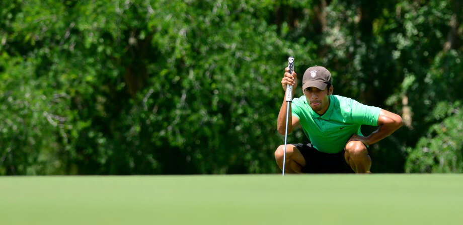 Arnold Martinez chased down the second-round leaders at Republic Golf Club to earn his first Greater San Antonio title. Photo: Robin Jerstad / For The Express-News