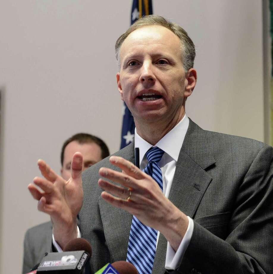 Saratoga County District Attorney James Murphy  (Skip Dickstein / Times Union) Photo: SKIP DICKSTEIN / 00017077A