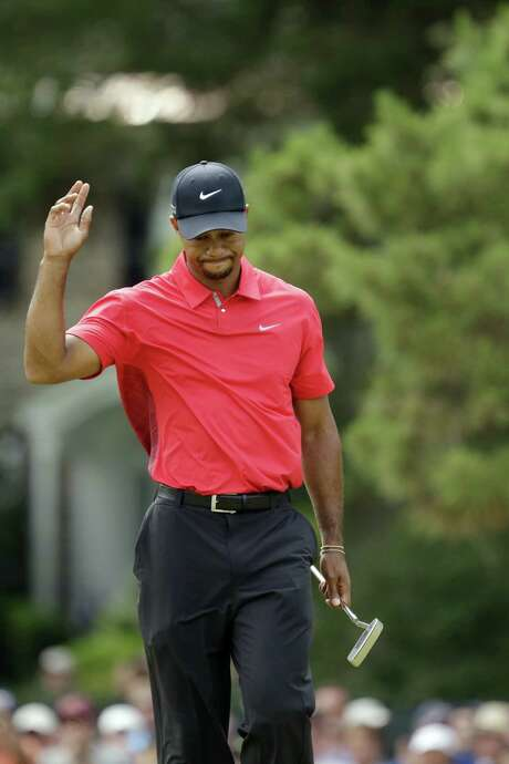 Tiger Woods finished 13-over. He is still looking for his first major title since 2008. Photo: Gene J. Puskar / Associated Press