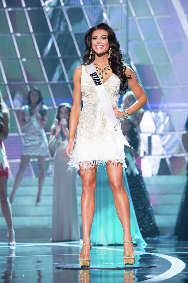 Miss Utah USA 2013, Marissa Powell, is announced as one of the 15 finalists for Miss USA 2013 during the 2013 MISS USA Competition at PH Live in Las Vegas, Nevada on Sunday June 16, 2013. Photo: Richard Harbaugh, Miss Universe Organization / Miss Universe Organization L.P., LLLP.