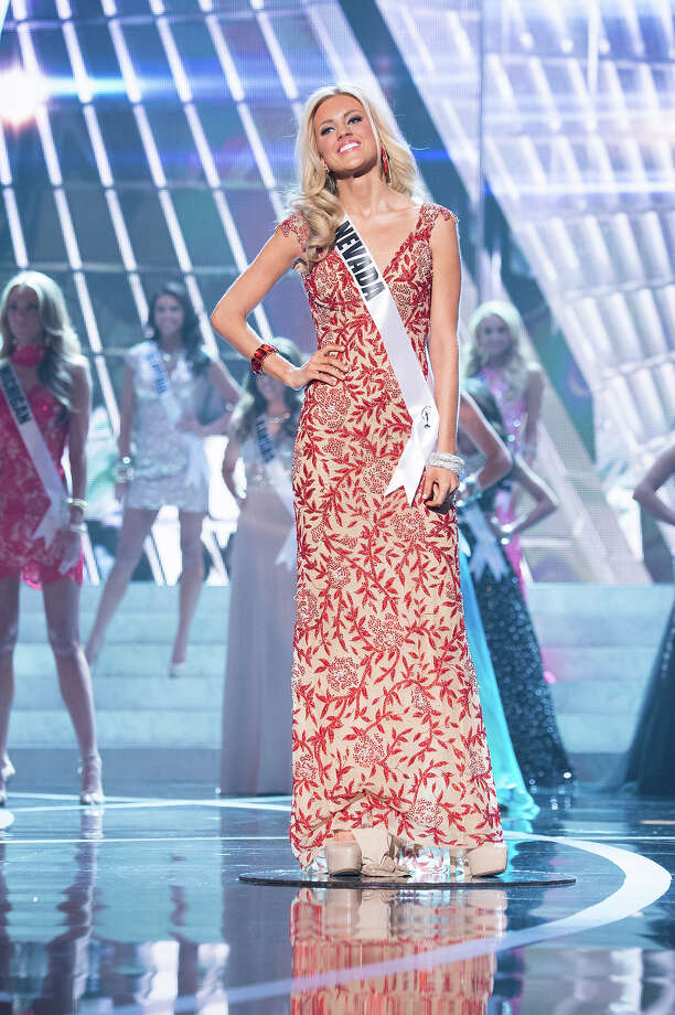 Miss Nevada USA 2013, Chelsea Caswell, is announced as one of the 15 finalists for Miss USA 2013 during the 2013 MISS USA Competition at PH Live in Las Vegas, Nevada on Sunday June 16, 2013. Photo: Richard Harbaugh, Miss Universe Organization / Miss Universe Organization L.P., LLLP.