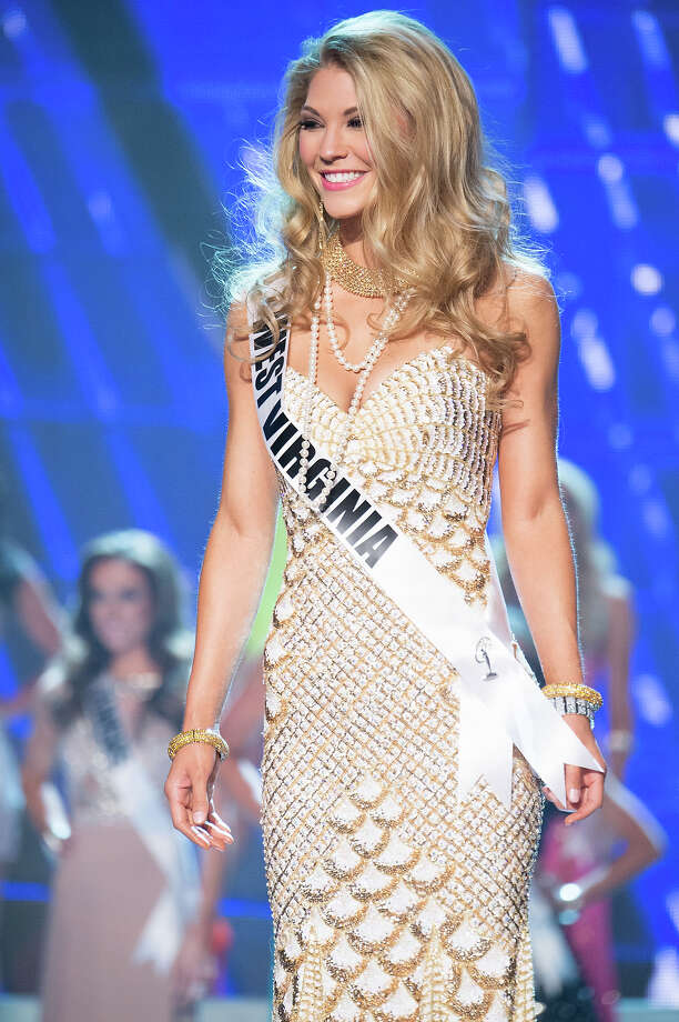 Miss West Virginia USA 2013, Chelsea Welch, is announced as one of the 15 finalists for Miss USA 2013 during the 2013 MISS USA Competition at PH Live in Las Vegas, Nevada on Sunday June 16, 2013. Photo: Richard Harbaugh, Miss Universe Organization / Miss Universe Organization L.P., LLLP.