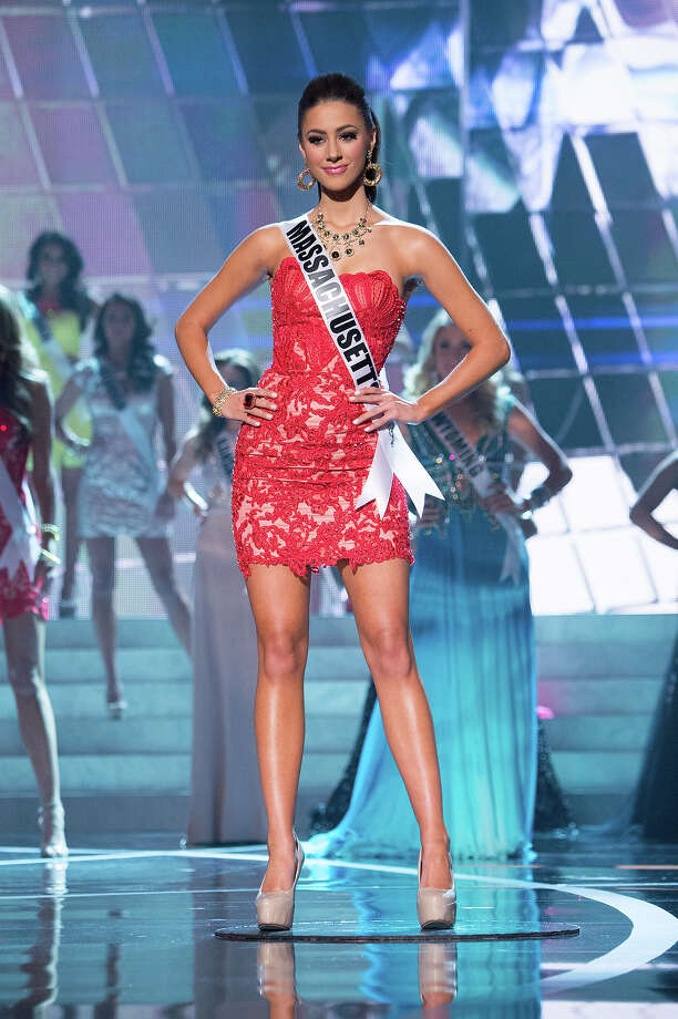Miss Massachusetts USA 2013, Sarah Kidd, is announced as one of the 15 finalists for Miss USA 2013 during the 2013 MISS USA Competition at PH Live in Las Vegas, Nevada on Sunday June 16, 2013. Photo: Richard Harbaugh, Miss Universe Organization / Miss Universe Organization L.P., LLLP.