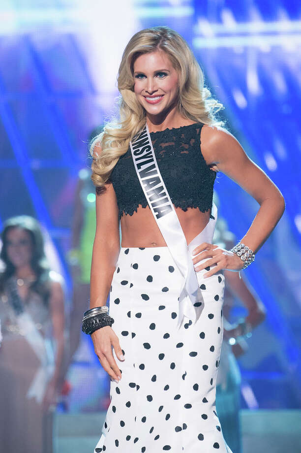 Miss Pennsylvania USA 2013, Jessica Billings, is announced as one of the 15 finalists for Miss USA 2013 during the 2013 MISS USA Competition at PH Live in Las Vegas, Nevada on Sunday June 16, 2013. Photo: Richard Harbaugh, Miss Universe Organization / Miss Universe Organization L.P., LLLP.