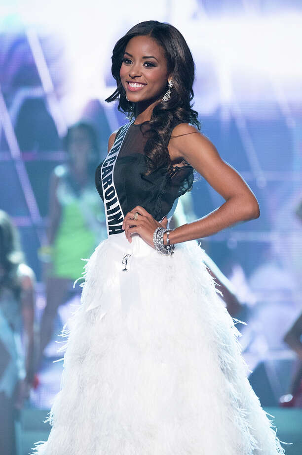 Miss South Carolina USA 2013, Megan Pinckney, is announced as one of the 15 finalists for Miss USA 2013 during the 2013 MISS USA Competition at PH Live in Las Vegas, Nevada on Sunday June 16, 2013. Photo: Richard Harbaugh, Miss Universe Organization / Miss Universe Organization L.P., LLLP.