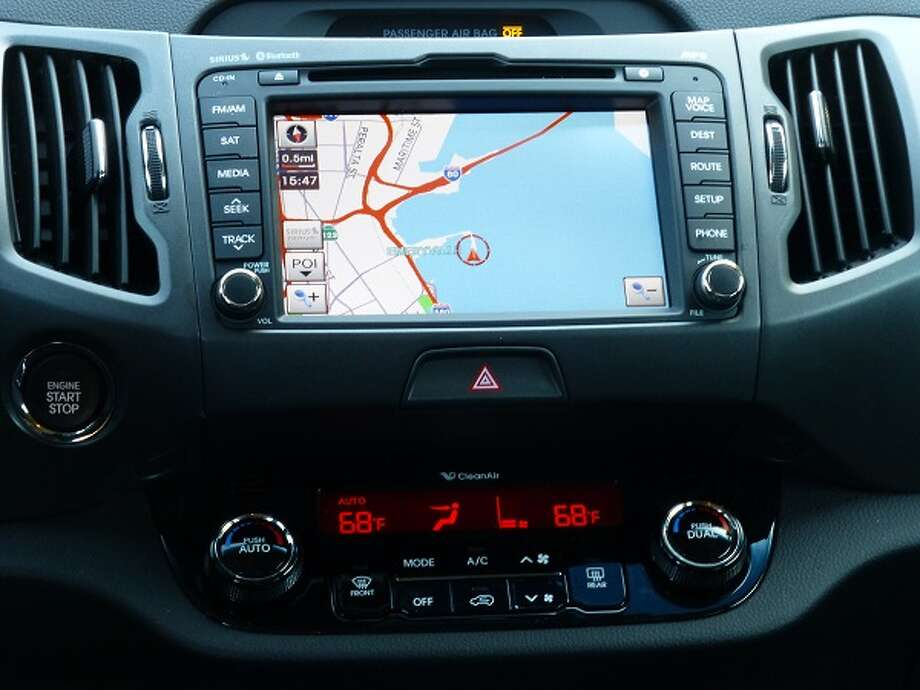 The navigation system is a $1,200 extra. If you know where you are, and you know where you are going, you can save yourself some money by opting out of that option.