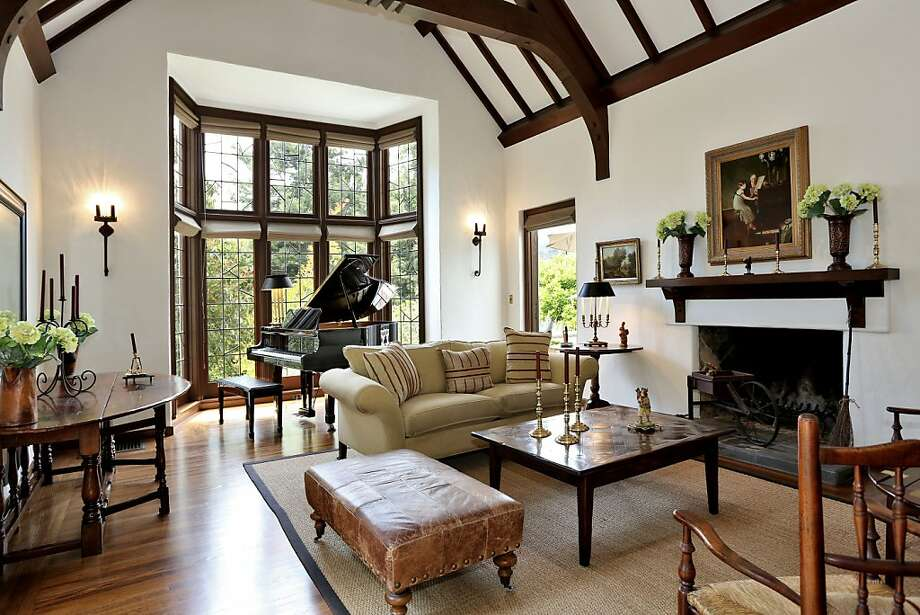 6 Photos And Inspiration Tudor Living Room House Plans