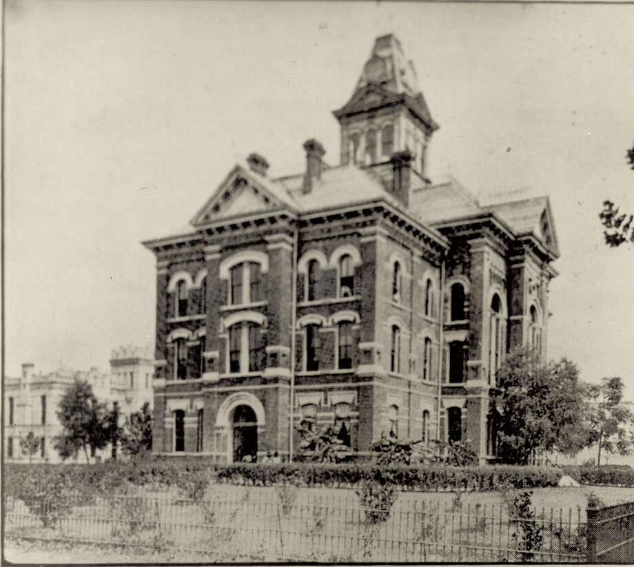 The second Jefferson County Courthouse was built in 1893, enlarged in 1922 and replace in 1932 by the current structure. Enterprise file photo.