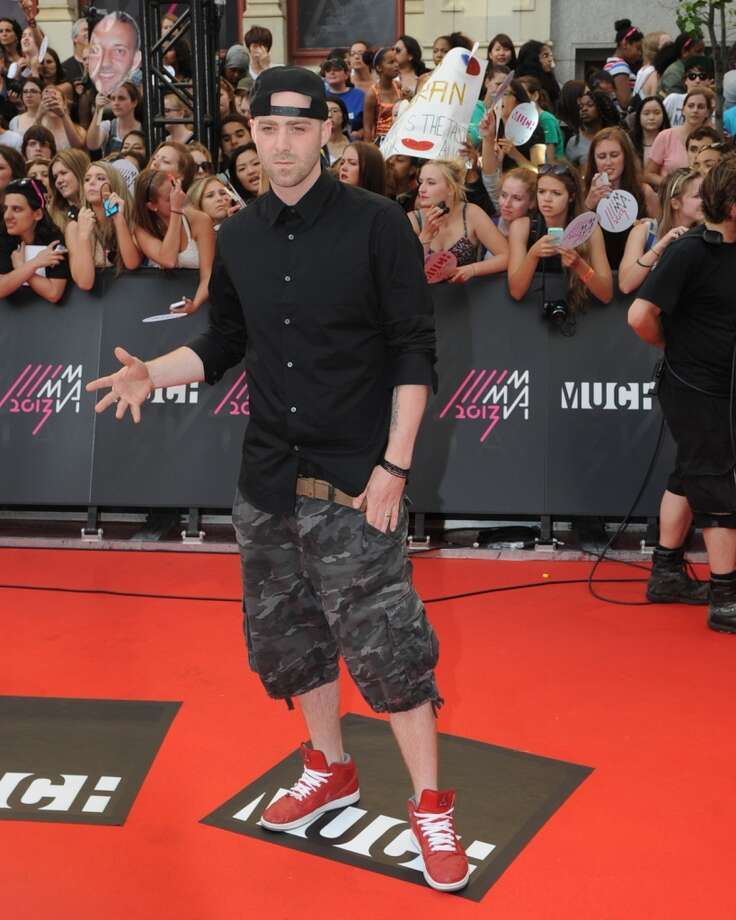 TORONTO, ON - JUNE 16:  Classified arrives on the red carpet at the 2013 MuchMusic Video Awards at Bell Media Headquarters on June 16, 2013 in Toronto, Canada.  (Photo by Jag Gundu/Getty Images)
