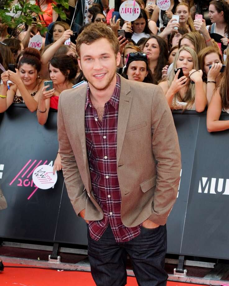 TORONTO, ON - JUNE 16:  Phillip Phillips arrives on the red carpet at the 2013 MuchMusic Video Awards at Bell Media Headquarters on June 16, 2013 in Toronto, Canada.  (Photo by Jag Gundu/Getty Images)