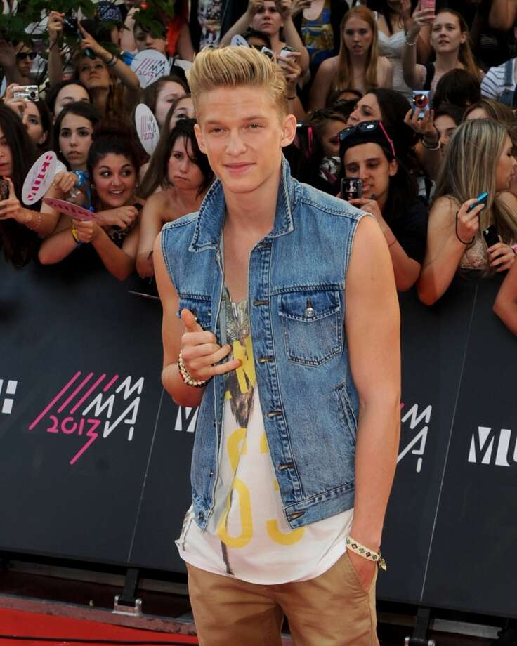 TORONTO, ON - JUNE 16:  Cody Simpson arrives on the red carpet at the 2013 MuchMusic Video Awards at Bell Media Headquarters on June 16, 2013 in Toronto, Canada.  (Photo by Jag Gundu/Getty Images)