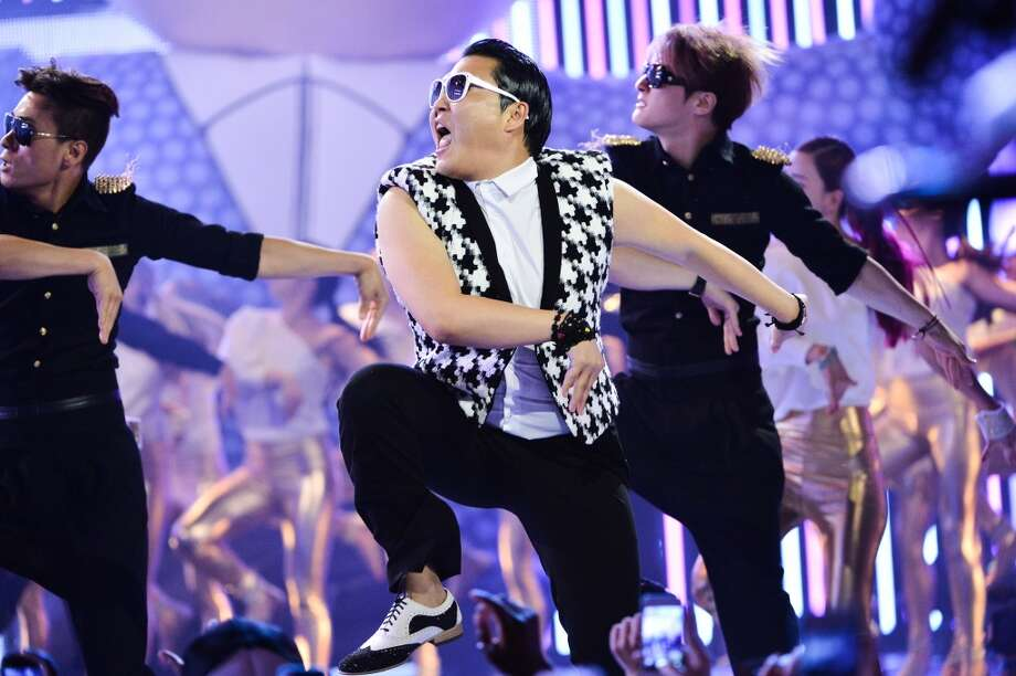 TORONTO, ON - JUNE 16:  PSY peforms aqt the 2013 MuchMusic Video Awards at MuchMusic HQ on June 16, 2013 in Toronto, Canada.  (Photo by George Pimentel/WireImage)