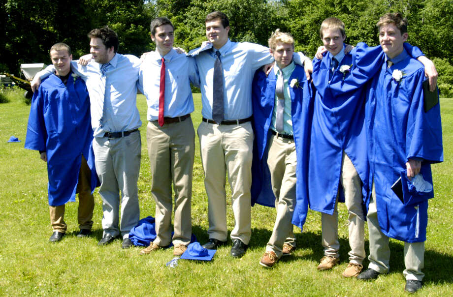 Shepaug Valley High School's commencement ceremony for the Class of 2013. June 15, 2013 Photo: Norm Cummings