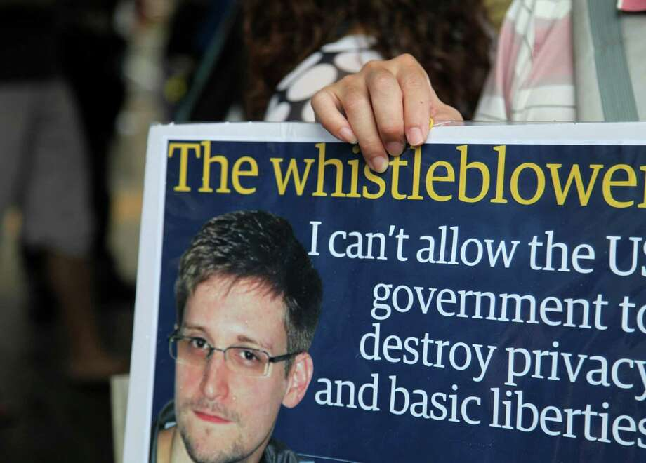 In the wake of the Edward Snowden controversy, a reader said he does 