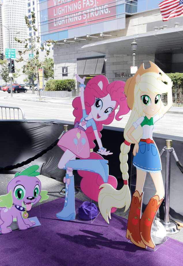 "The ""Purple Carpet"" premiere of ""My Little Pony Equestria Girls"" presented by Hasbro Studios and LAFF in Los Angeles."