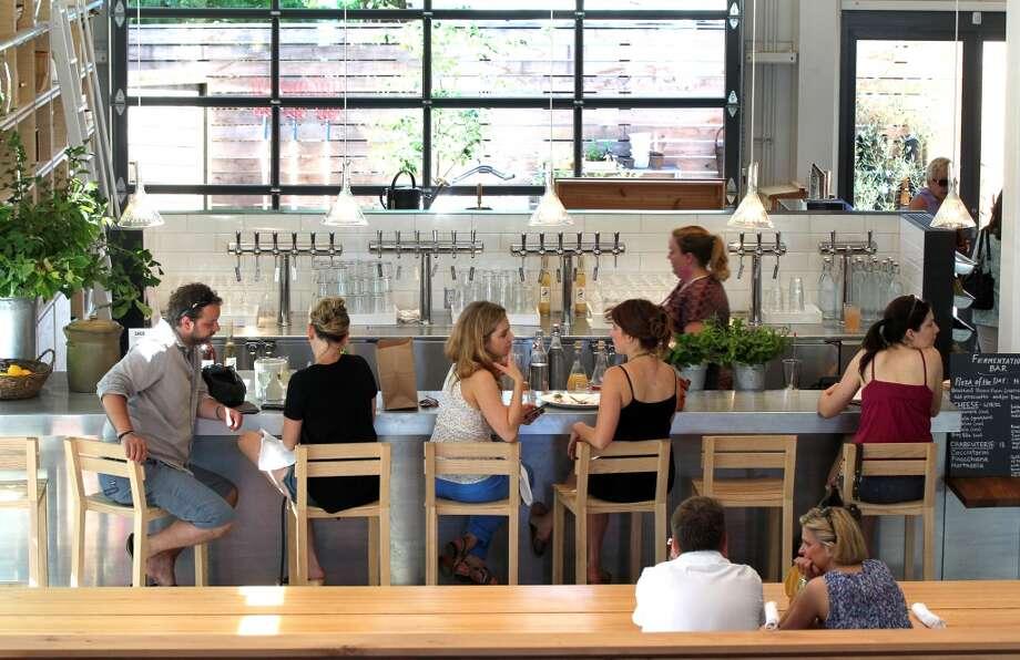 Tthe fermentation bar.