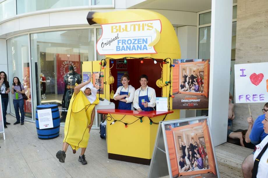 BEVERLY HILLS, CA - MAY 22: A general view of atmosphere at the 'Arrested Development' Bluth's Original Frozen Banana Stand Third Los Angeles Location at The Paley Center for Media on May 22, 2013 in Beverly Hills, California. (Photo by Araya Diaz/Getty Images for Netflix)