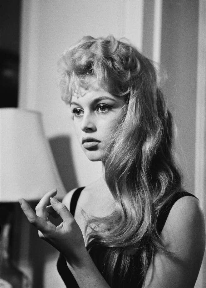 French actress Brigitte Bardot, 1956.