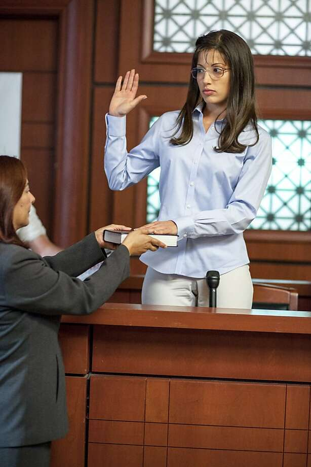 Tania Raymonde stars as Jodi Arias in a Lifetime movie. Photo: Jack Zeman, Lifetime