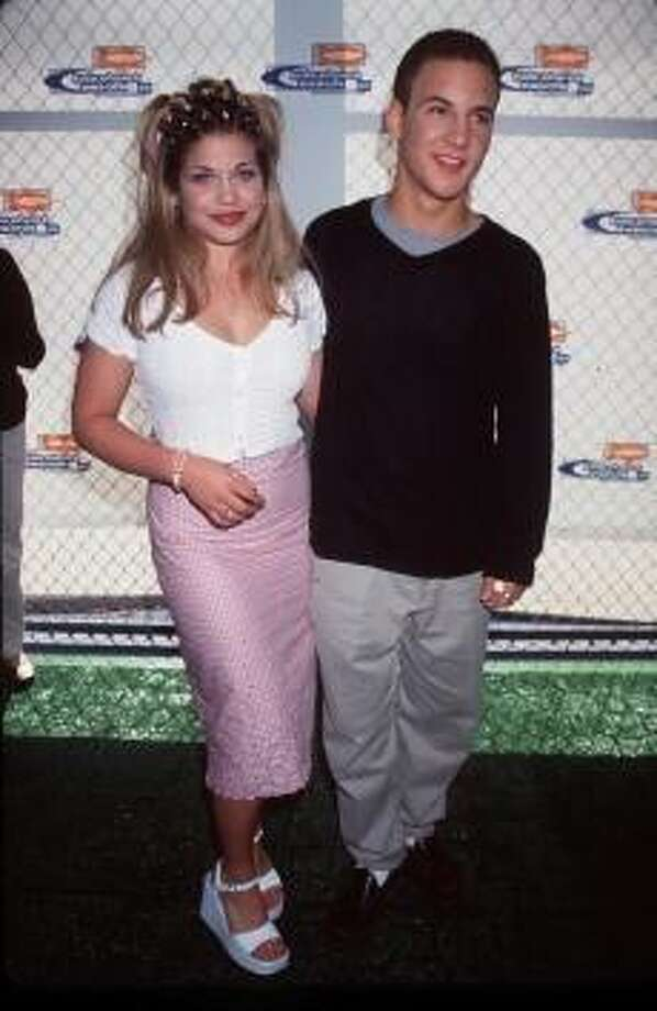 'Boy Meets World' cast members Ben Savage and Danielle Fishel attend Nickelodeon's 12th Annual Kids'' Choice Awards May 1, 1999 in Westwood, CA. (Photo by Brenda Chase/Online USA)