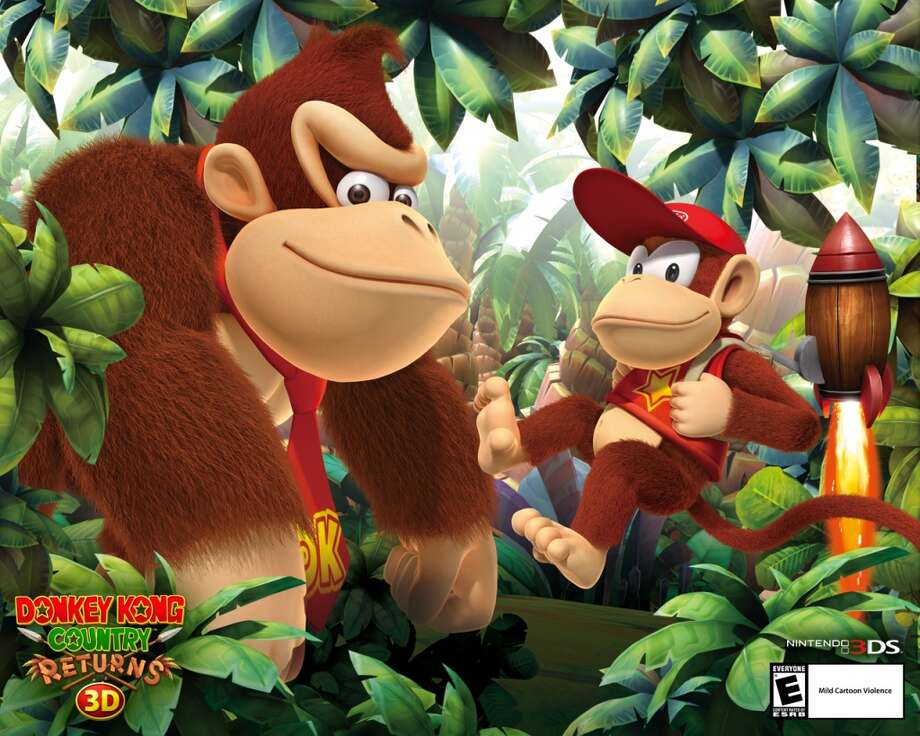 No. 3: Donkey Kong Nintendo 3DS Nintendo platformer Weekly units sold: 25,768 Total units sold: 125,258 Number of weeks available: 3