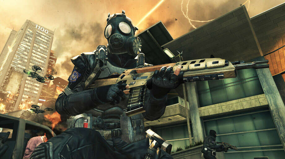 No. 2: Call of Duty: Black Ops II Xbox 360 Activision First-person shooter Weekly units sold: 31,138 Total units sold: 6,946,003 Number of weeks available: 30 Photo: Foo1;Foo2