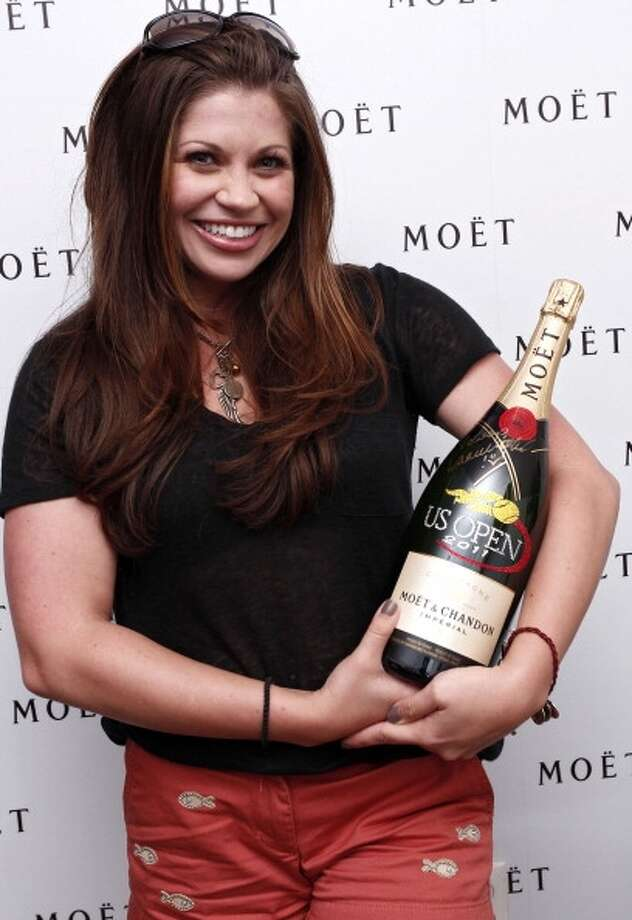 Actress Danielle Fishel attends The Moet Suite at the US OPEN on September 5, 2011 in New York.