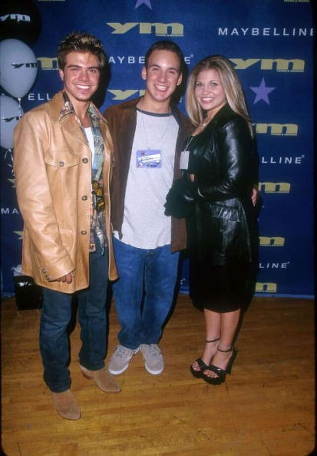 Matthew Lawrence, Ben Savage, & Danielle Fishel in 1999.