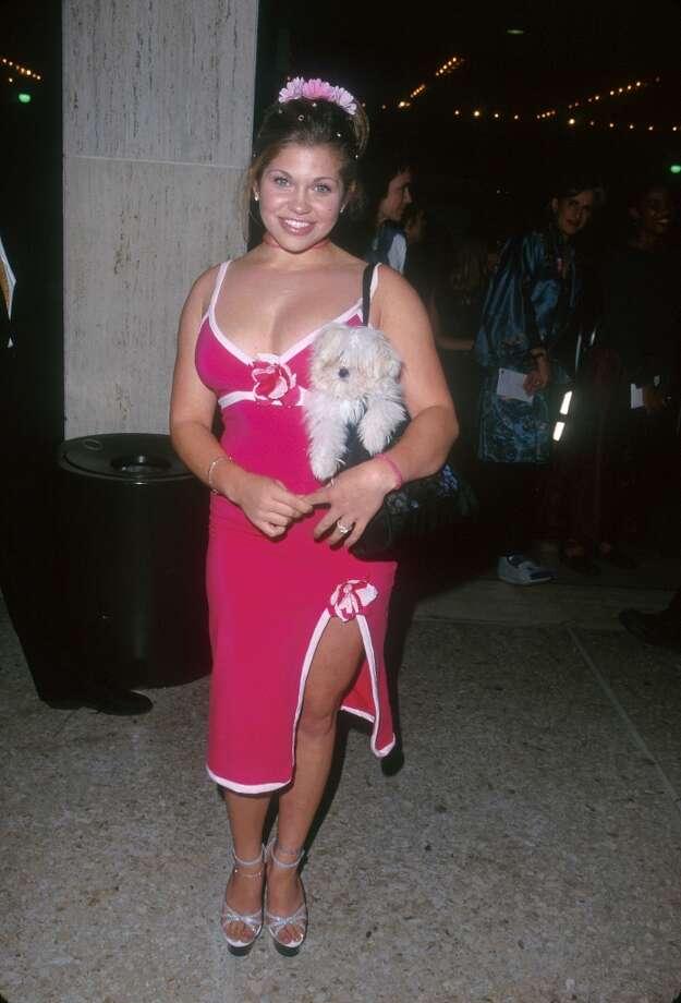 Danielle Fishel in 1999.