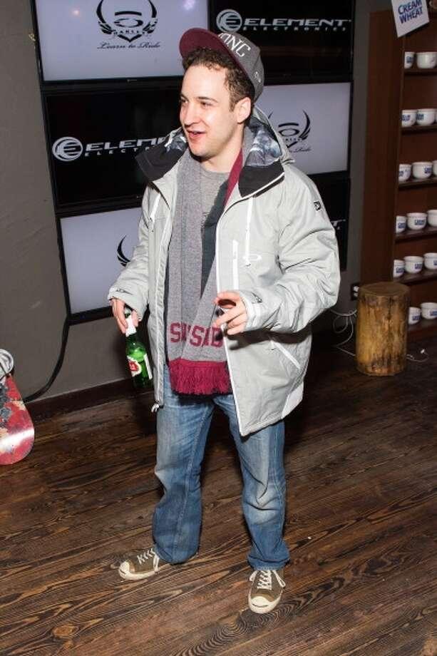 Actor Ben Savage in Park City, Utah in January.