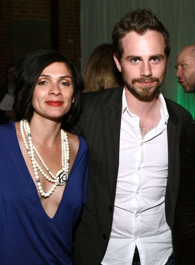 Director Alexandra Barreto and actor Rider Strong attend the Tribeca Film Festival wrap party hosted by Heineken at EYEBEAM on April 30, 2011 in New York City.