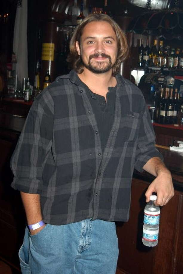 Will Friedle at Bleeding Edge release party for their new Goth Dolls at Bar Sinister in Hollywood, California on August 7, 2003.