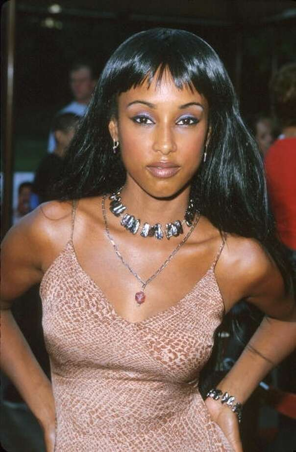 Trina McGee-Davis during 'Nutty Professor II - The Klumps' - Los Angeles Premiere at Universal Amphitheatre in Universal City in 2000.