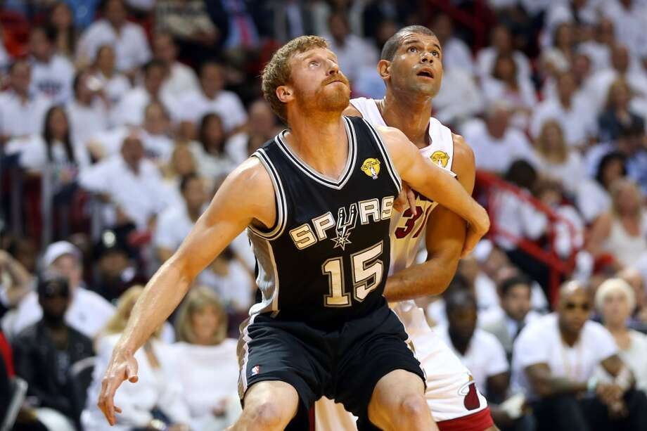 Matt Bonner: Spurs fans admire his offensive mindset, his willingness to bang on the boards and his everyman approach.