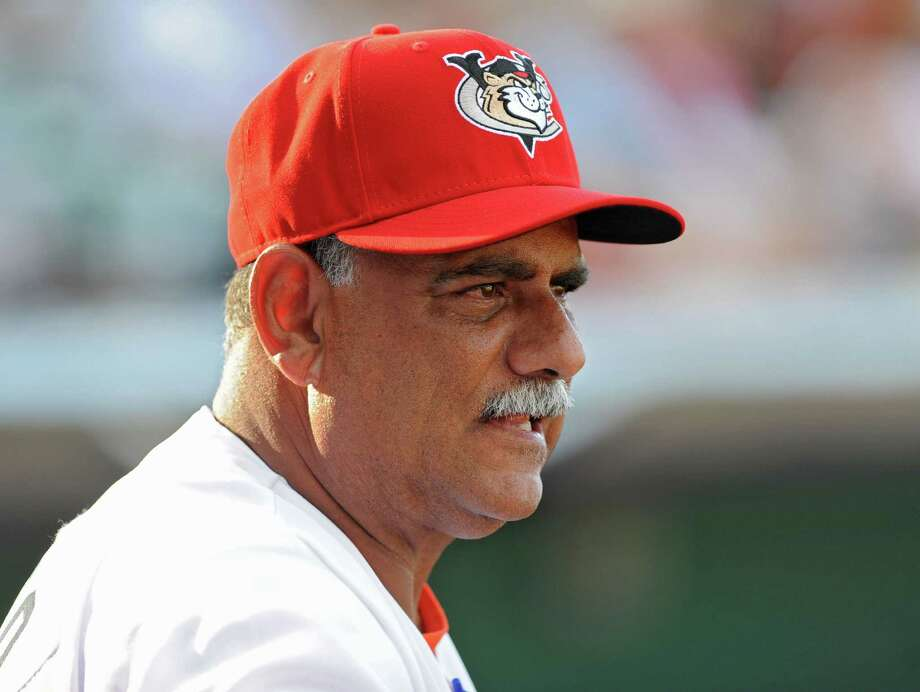 Tri-City ValleyCats manager Ed Romero during a baseball game against the Vermont Lake Monsters at Joe Bruno Stadium on Monday, June 17, 2013 in Troy, N.Y. (Lori Van Buren / Times Union) Photo: Lori Van Buren / 10022829A