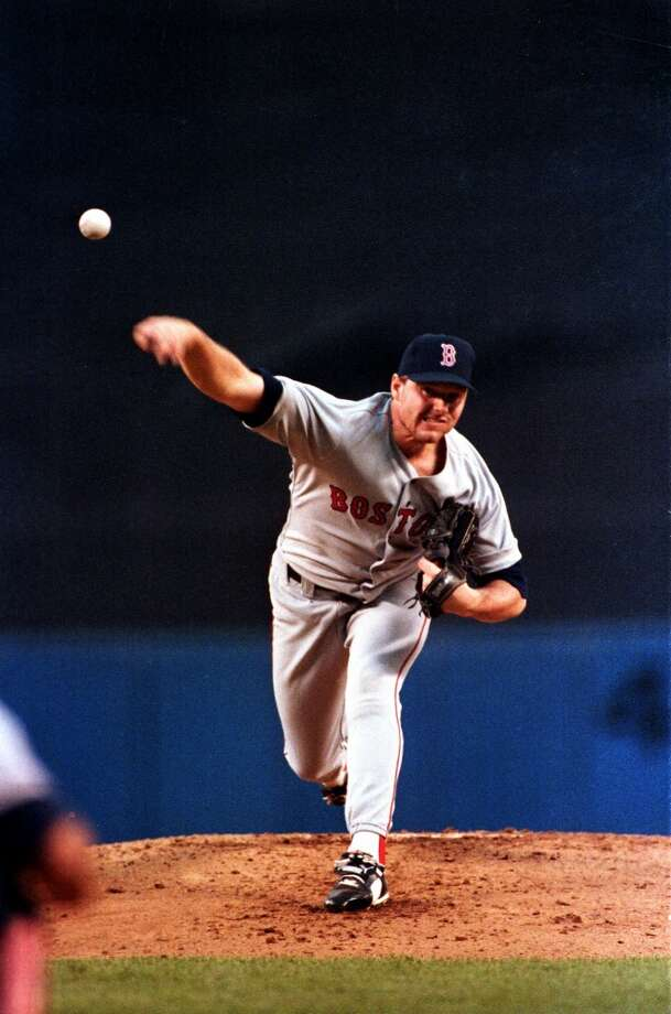 Drafted in the first round (No. 19 overall) by Boston in 1983, Clemens made his MLB debut May 15, 1984. In his 13 seasons (1984-1996) with the Red Sox, he won 192 games, three Cy Young Awards (1986, 1987 and 1991), the 1986 AL MVP award and was a five-time All-Star. Photo: Peter Morgan, Associated Press