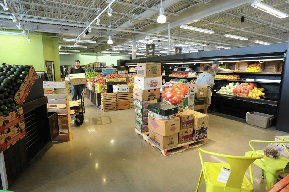 The produce department at the new Honest Weight Food Co-op at 100 Watervliet Ave. on Monday, June 17, 2013 in Albany, N.Y. The soft opening is Wednesday. (Lori Van Buren / Times Union) Photo: Lori Van Buren / 10022837A