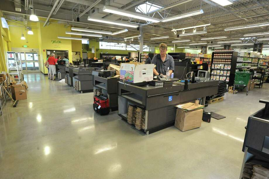 The front end register area at the new Honest Weight Food Co-op at 100 Watervliet Ave. on Monday, June 17, 2013 in Albany, N.Y. The soft opening is Wednesday. (Lori Van Buren / Times Union) Photo: Lori Van Buren / 10022837A